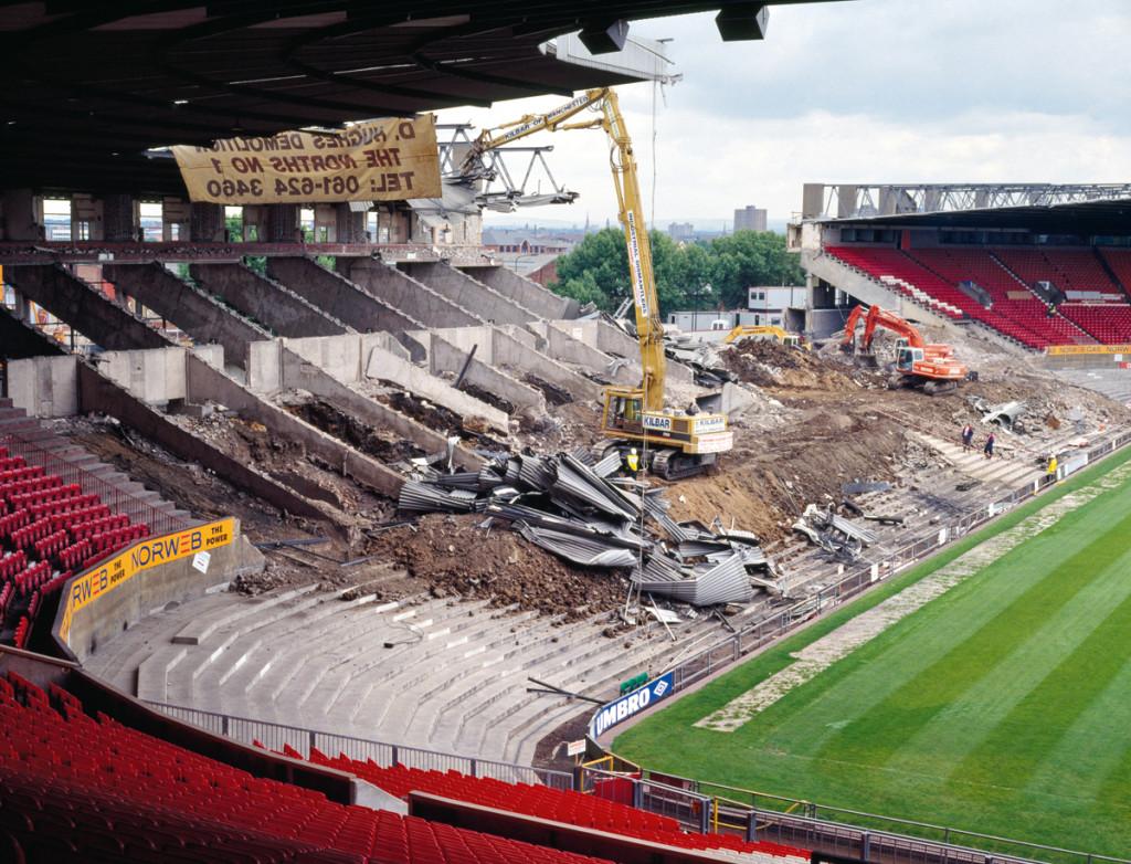Abbruch Old Trafford
