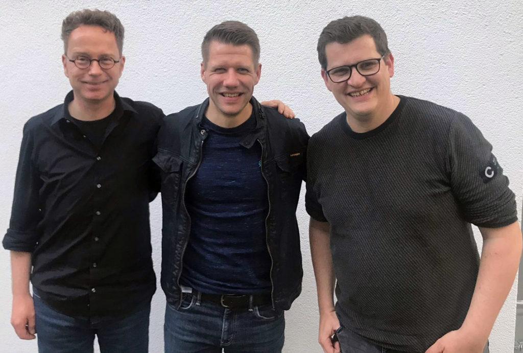 Alex Feuerherdt, Patrick Ittrich, Klaas Reese (v. l.)